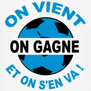 on vient on gagne Tee shirts - Tee shirt près du corps Homme