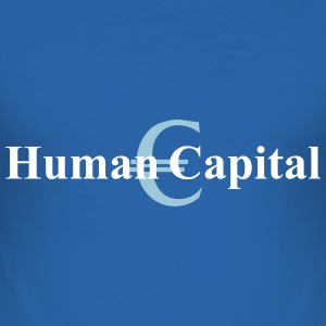 human capital T-shirts - Slim Fit T-shirt herr
