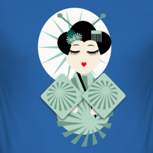 geisha T-Shirts - Männer Slim Fit T-Shirt