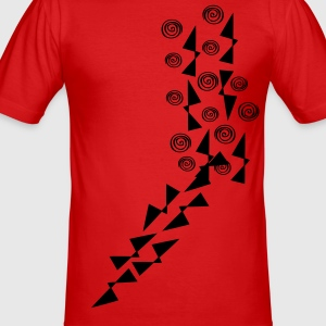 Cool pattern Men's slim fit t-shirt - Men's Slim Fit T-Shirt