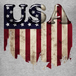 usa_grunge4 T-Shirts - Men's Slim Fit T-Shirt