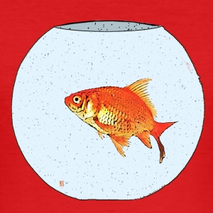 Poisson rouge Tee shirts - Tee shirt près du corps Homme