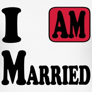 I am Married Tee shirts - Tee shirt près du corps Homme