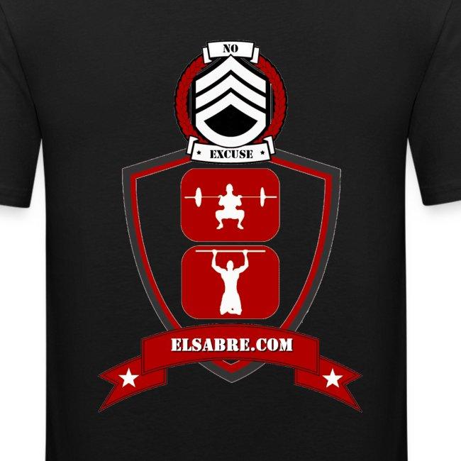 T-shirt Blason Red