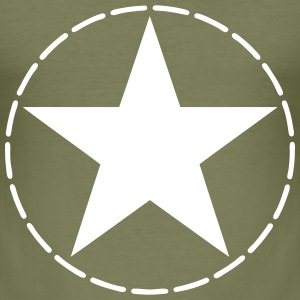 star US army T-Shirts - Men's Slim Fit T-Shirt