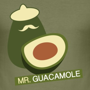 Mr. Guacamole - slim fit T-shirt