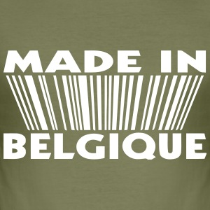 made in Belgique 3D code (1c) Tee shirts - Tee shirt près du corps Homme