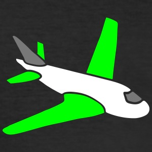 airplanes jet sky freedom aircraft flying glider T-shirts - Slim Fit T-shirt herr