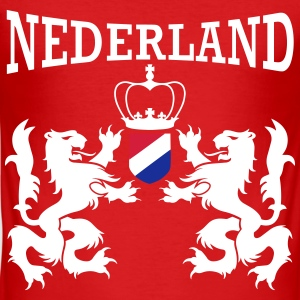 Nederland Emblem T-shirts - slim fit T-shirt