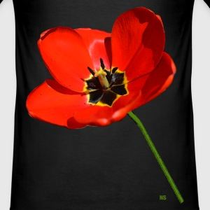 Roter Mohn T-Shirts - Männer Slim Fit T-Shirt