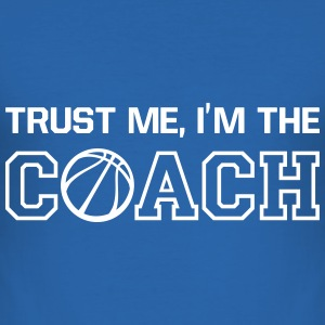 Basketball Coach 2 T-Shirts - Men's Slim Fit T-Shirt