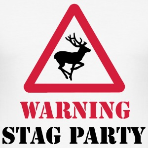 Stag Party T-Shirts - Men's Slim Fit T-Shirt