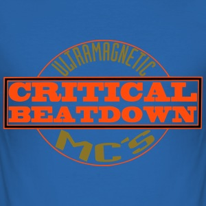 critical beatdown - Men's Slim Fit T-Shirt