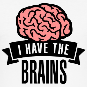I have the brains T-shirts - slim fit T-shirt
