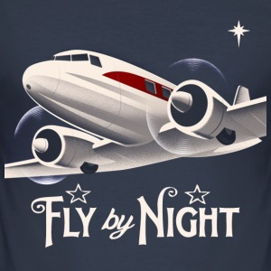fly by night - Men's Slim Fit T-Shirt