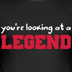 Legend T-shirts - Slim Fit T-shirt herr