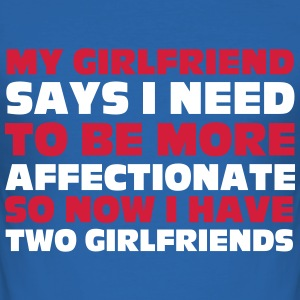 My Girlfriend T-Shirts - Men's Slim Fit T-Shirt