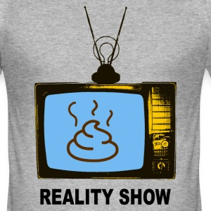 program reality show T-Shirts - Men's Slim Fit T-Shirt