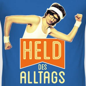 Held des Alltags - Männer Slim Fit T-Shirt