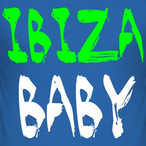 Ibiza Baby T-skjorter - Slim Fit T-skjorte for menn