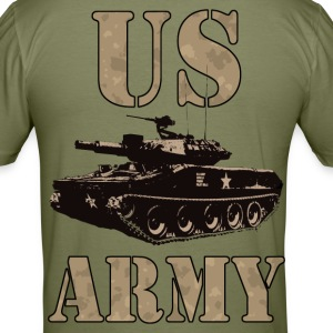 US Army 01 T-Shirts - Men's Slim Fit T-Shirt