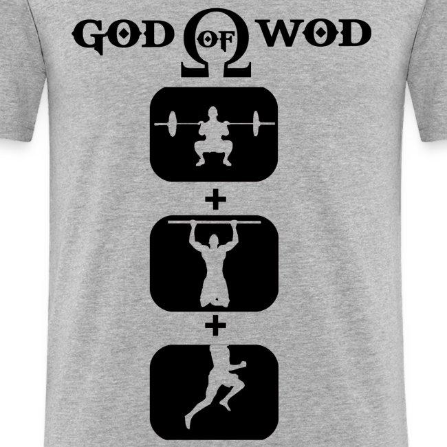 T-shirt God Of Wod