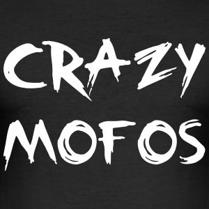 Crazy Mofo T-shirts - Slim Fit T-shirt herr