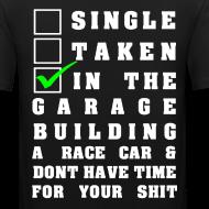 Motiv ~ Building a Racecar T-Shirt Design