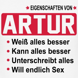 artur T-Shirts - Männer Slim Fit T-Shirt