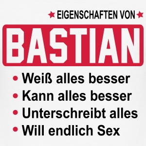 bastian T-Shirts - Männer Slim Fit T-Shirt