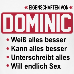 dominic T-Shirts - Männer Slim Fit T-Shirt