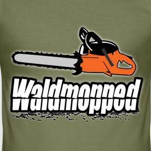 waldmopped T-Shirts - Männer Slim Fit T-Shirt