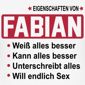 fabian T-Shirts - Männer Slim Fit T-Shirt