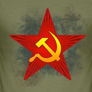 Soviet - Men's Slim Fit T-Shirt