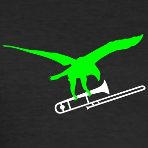 eagle trombone T-Shirts - Men's Slim Fit T-Shirt