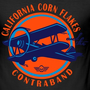 california corn flakes - Men's Slim Fit T-Shirt