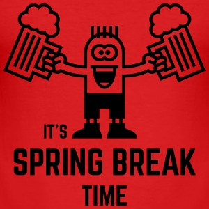 It's Spring Break Time (Beer / 1C) T-Shirts - Men's Slim Fit T-Shirt