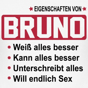 bruno T-Shirts - Männer Slim Fit T-Shirt