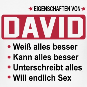 david T-Shirts - Männer Slim Fit T-Shirt