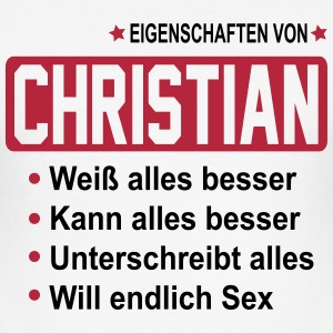 christian T-Shirts - Männer Slim Fit T-Shirt