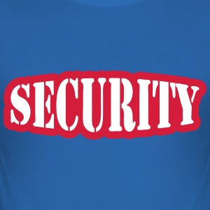 Security T-shirts - Slim Fit T-shirt herr