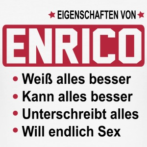 enrico T-Shirts - Männer Slim Fit T-Shirt