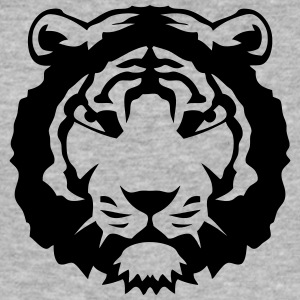 tigre animal sauvage feroce 12022 Tee shirts - Tee shirt près du corps Homme