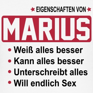 marius T-Shirts - Männer Slim Fit T-Shirt