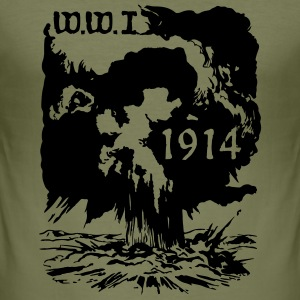 ww1914_vec_1 de T-Shirts - Männer Slim Fit T-Shirt
