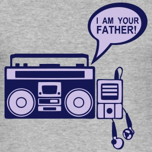 i am your father radio k7 mp3 lecteur 0 Tee shirts - Tee shirt près du corps Homme