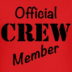 Official Crew Member T-skjorter - Slim Fit T-skjorte for menn