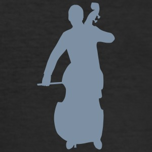 contrabass T-Shirts - Men's Slim Fit T-Shirt