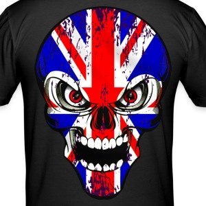 united kingdom skull T-skjorter - Slim Fit T-skjorte for menn