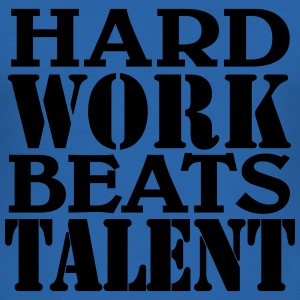 Hard work beats Talent T-shirts - slim fit T-shirt